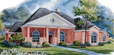 Southern Style House Plans Plan: 10-1155
