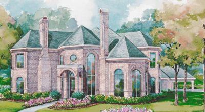European Style House Plans Plan: 10-1160