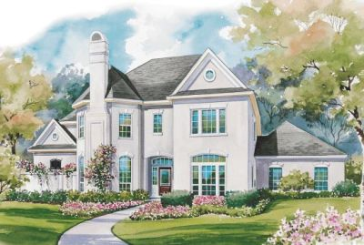 European Style House Plans Plan: 10-1164