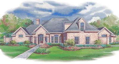European Style House Plans Plan: 10-1165