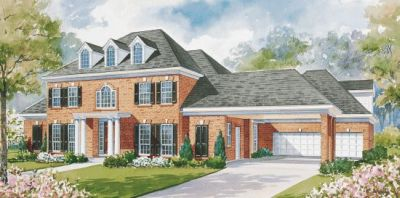 Southern-colonial Style Home Design Plan: 10-1167