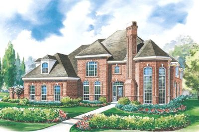 European Style Floor Plans 10-1177