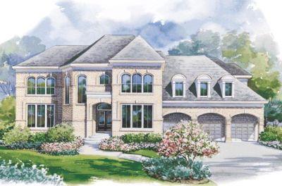 European Style House Plans Plan: 10-1180