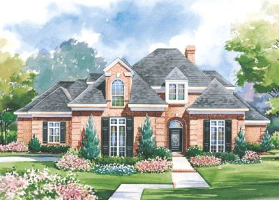 European Style Floor Plans Plan: 10-1186