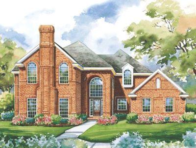 European Style House Plans Plan: 10-1187