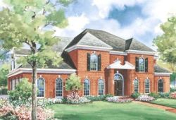 Southern-Colonial Style House Plans Plan: 10-1190