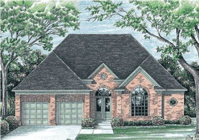 Traditional Style House Plans Plan: 10-1191