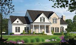 Southern Style House Plans Plan: 10-1193