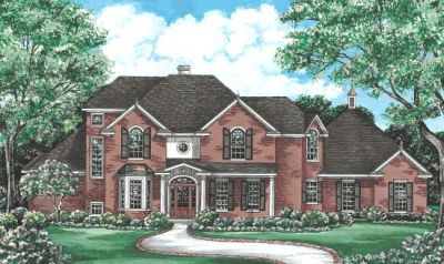 European Style Floor Plans Plan: 10-1200