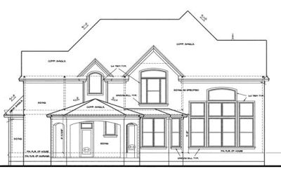 Rear Elevation Plan: 10-1204