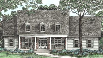 Country Style Floor Plans Plan: 10-1211