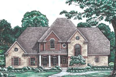 European Style Floor Plans Plan: 10-1213
