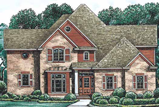 Traditional Style Floor Plans Plan: 10-1214