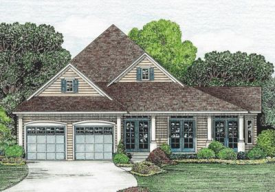European Style Floor Plans Plan: 10-1217