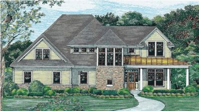 Country Style Floor Plans Plan: 10-1220