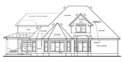 Rear Elevation Plan: 10-1220