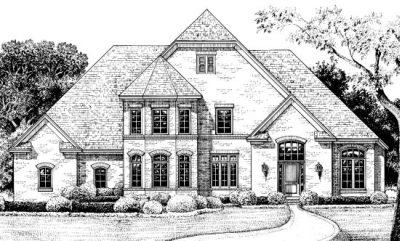 European Style Floor Plans Plan: 10-1222
