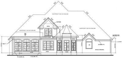 Rear Elevation Plan: 10-1222