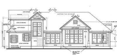 Rear Elevation Plan: 10-1227
