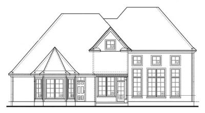 Rear Elevation Plan: 10-1228