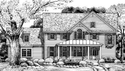 Country Style House Plans Plan: 10-1234