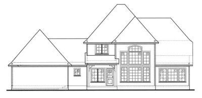 Rear Elevation Plan: 10-1235