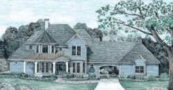 Country Style House Plans Plan: 10-1237