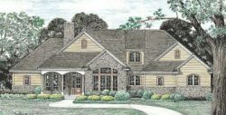 Country Style Floor Plans 10-1238