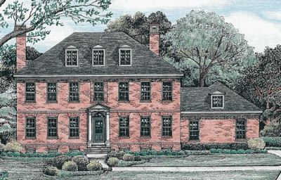 Early-american Style House Plans Plan: 10-1242