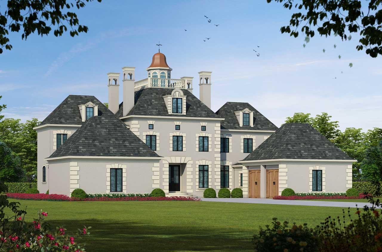 Italian Style House Plans Plan: 10-1246