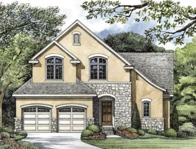 French-country Style Floor Plans Plan: 10-1253
