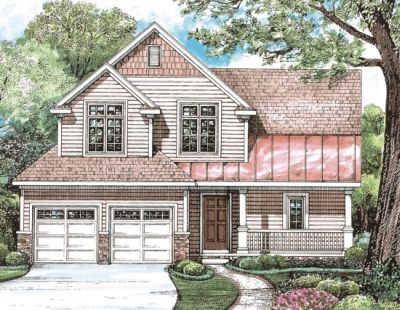 Country Style Floor Plans Plan: 10-1254