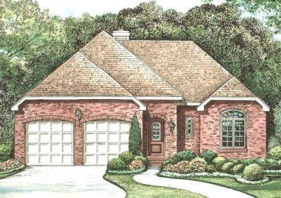 European Style House Plans Plan: 10-1255