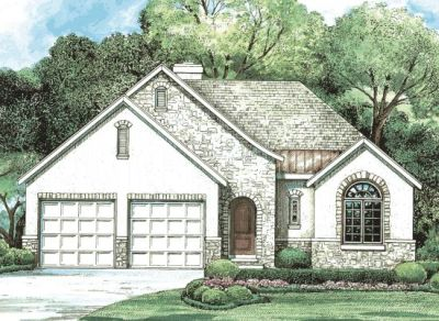 Traditional Style Home Design Plan: 10-1256