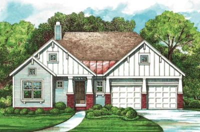 Craftsman Style House Plans Plan: 10-1262