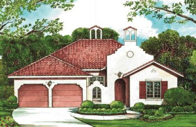 Spanish Style House Plans Plan: 10-1264