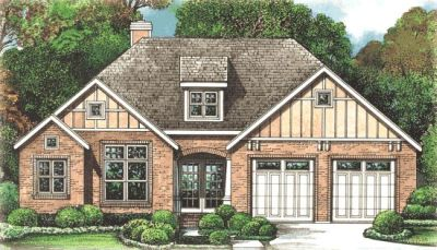 Craftsman Style Home Design Plan: 10-1271