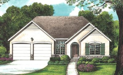 European Style Floor Plans Plan: 10-1273