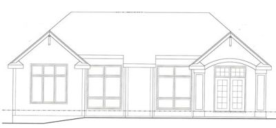 Rear Elevation Plan: 10-1275