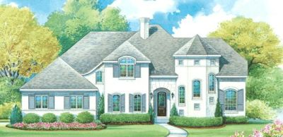 French-country Style Floor Plans Plan: 10-1276