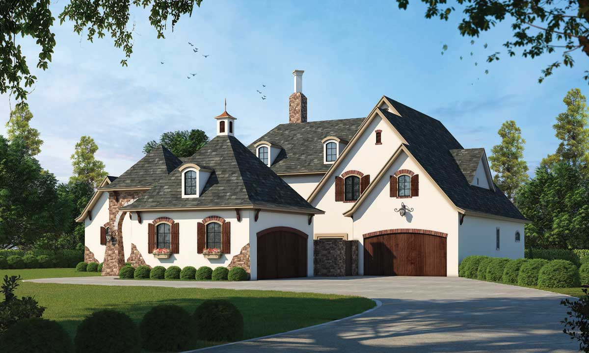 European Style House Plans