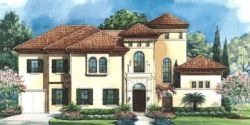 Italian Style House Plans Plan: 10-1279