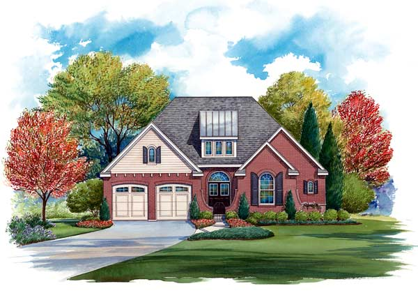 Traditional Style House Plans Plan: 10-1286