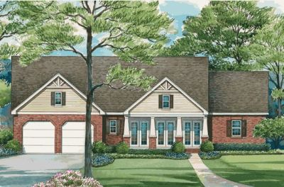 Traditional Style House Plans Plan: 10-1288