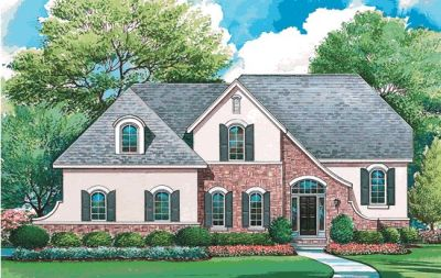French-country Style House Plans Plan: 10-1289