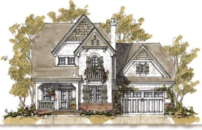 European Style Floor Plans Plan: 10-1292