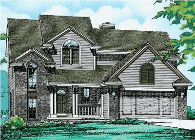 Traditional Style House Plans 10-130