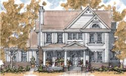 Southern Style Home Design Plan: 10-1301