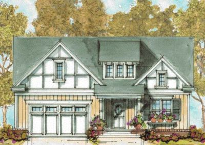 French-country Style House Plans Plan: 10-1305