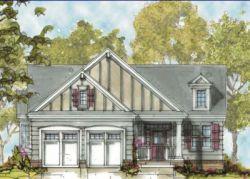 Craftsman Style Home Design Plan: 10-1308